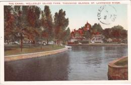 New York Thousand Islands The Canal Wellesley Island Farm St Law