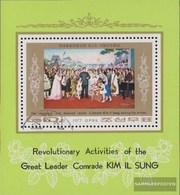 North-Korea Block39 (complete Issue) Fine Used / Cancelled 1977 Kim II Sung: Paintings - Korea, North