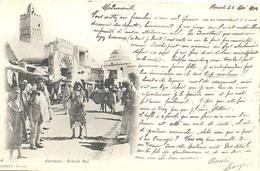 Kairouan, Grande Rue  ( 2 X Scan) - Tunesië