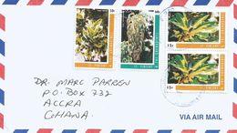 St Vincent & Greandines 2006 Shrub 15c 50c 60c Cover - St.Vincent (1979-...)