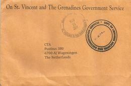 St Vincent & Greandines 2011 Unfranked Official Cover - St.Vincent (1979-...)