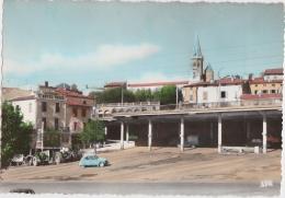 Bg - Cpsm Grand Format PUYLAURENS - Quartier Du Barry Et Le Foirail - Puylaurens