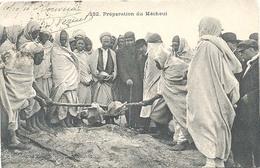 Algerie, Preparation Du Méchoui ( 2 X Scan) - Zonder Classificatie