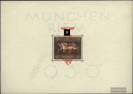 German Empire Block10 (complete.issue.) Unmounted Mint / Never Hinged 1937 That Brown Tie - Germany