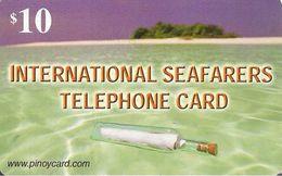 CARTE-+PREPAYEE-USA-2002-10$-INTERNATIONAL SEAFARERS-TBE - Other