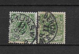 LOTE 1476   ///    ALEMANIA IMPERIO      YVERT Nº: 46  CON FECHADOR  DE  BERLIN S.W. - Alemania