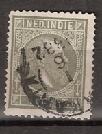 Ned Indie 1870 Koning Willem III. 1 Cent Type 1, NVPH 3 Gestempeld. - Nederlands-Indië