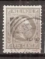 Ned Indie 1870 Koning Willem III. 12,5 Cent. NVPH 10 Gestempeld - Indes Néerlandaises