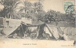 Algerie, Campement De Nomades - Algerije