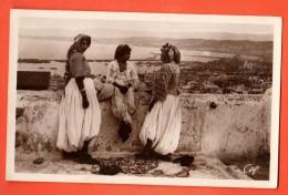 GAJ-17  Alger Sur Les Terrasses De La Casbah. Femmes. Circulé Sous Enveloppe (1939) - Alger
