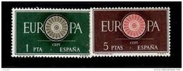 SPAIN 1960 EUROPA CEPT  MNH - 1960