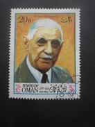 OMAN Timbre Général De Gaulle Oblitéré - Oman