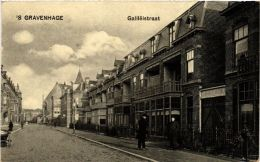 CPA `s-GRAVENHAGE Galileistraat NETHERLANDS (602011) - Den Haag ('s-Gravenhage)