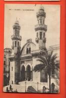 GAJ-26  Alger La Cathédrale. Circulé, Timbre Manque - Alger