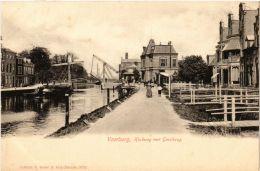 CPA VOORBURG Hoekweg Met Geestbrug NETHERLANDS (602175) - Voorburg