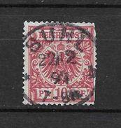 LOTE 1477   ///    ALEMANIA IMPERIO      YVERT Nº: 47  CON FECHADOR  DE  SUHL - Alemania