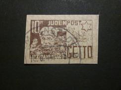 Litzmannstadt 10 Pf.  Ghetto  - REPRODUKTION ! - Besetzungen 1938-45