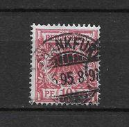 LOTE 1477   ///    ALEMANIA IMPERIO      YVERT Nº: 47  CON FECHADOR  DE  FRANKFURT - Alemania