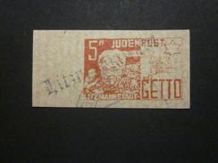 Litzmannstadt 5 Pf.  Ghetto  - REPRODUKTION ! (3) - Besetzungen 1938-45