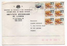 Portugal--1986-lettre De LISBONNE  Pour AMIENS (France)--timbres Sur Lettre-- - 1910-... République
