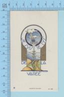 Image GBB Signé -   Je Suis Le Lys De La Vallée - Image Pieuse, Holy Card, Santini - Santini