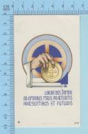 Image GBB Signé -   Libera Nos Domine Ab Omnibus Malis Praeteritis... - Image Pieuse, Holy Card, Santini - Santini