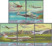 UN - Geneva 314-318 (complete Issue) Unmounted Mint / Never Hinged 1997 Transportation - Geneva - United Nations Office