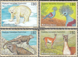 UN - Geneva 305-308 (complete Issue) Unmounted Mint / Never Hinged 1997 Affected Animals - Geneva - United Nations Office