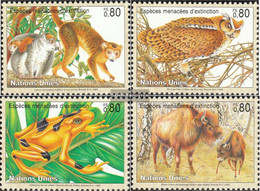 UN - Geneva 263-266 (complete Issue) Unmounted Mint / Never Hinged 1995 Affected Animals - Geneva - United Nations Office