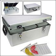 SAFE ALU-Koffer Für 510 CDs / DVDs / Blu-Rays In Hängeregistern - Other Supplies And Equipment