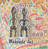 Tanzania Block208 (complete Issue) Unmounted Mint / Never Hinged 1992 Makonde-Art - Tansania (1964-...)