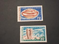 SENEGAL - 1967NARTE PREISTORICA  2 VALORI - NUOVI(++) - Senegal (1960-...)