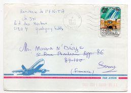 SENEGAL--1993-Lettre De DAKAR-FAAN  Pour SENS-89-tp Seul Sur Lettre--cachet - Sénégal (1960-...)