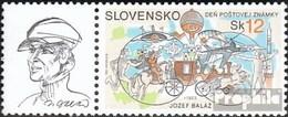 Slovaquie 475Zf Avec Ornement (complète.Edition.) Neuf Avec Gomme Originale 2003 Jour Le Timbre - Ungebraucht