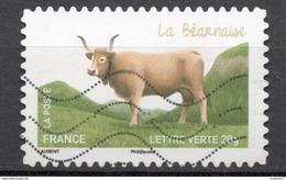 FRANCE 2014 Oblitéré : Les Vaches De Nos Régions - France