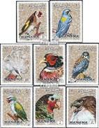 Manama 1040A-1047A (completa Edizione) MNH 1972 Uccelli - Manama
