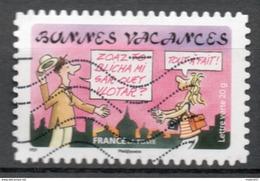 FRANCE 2015 Oblitéré : Bonnes Vacances - France