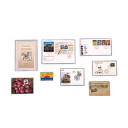 SAFE 9260 50 Klarsichthüllen Mit Offener Breitseite 168x108 - Phonecards