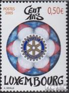 Luxembourg 1669 (complète.Edition.) Oblitéré 2005 Rotary - Lussemburgo