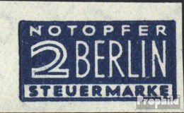 Bizonale (Allied Cast) Z1 W Supplément Obligatoire Neuf Avec Gomme Originale 1948 Notopfer Berlin - American/British Zone