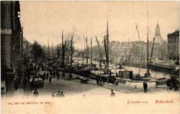 CPA ROTTERDAM Leuvehaven NETHERLANDS (602495) - Rotterdam