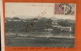 CAP TONKIN YENBAÏ  Vue Générale Cachet  1912  YENBAY TONKIN  2 Timbres Indochine Francaise   & R. F. Nov 2017 1043 - Vietnam