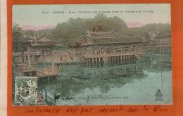 CAP ANNAM -HUE  Pavillon Sur Le Bassin Fleuri  Au Tombeau De TU-DUC   Nov 2017 1053 - Viêt-Nam