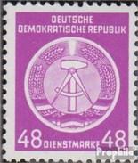 DDR Da13 Neuf Avec Gomme Originale 1954 Arc De Cercle Après Gauche - Neufs