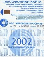TARJETA TELEFONICA DE RUSIA (718) - Rusia