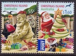 Christmas Island 2012 Christmas Sc ? Mint Never Hinged - Christmas Island