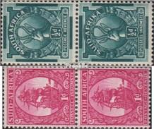 Afrique Du Sud 169-172 Couples (complète.Edition.) Neuf Avec Gomme Originale 1943 Landesmotive - South Africa (...-1961)