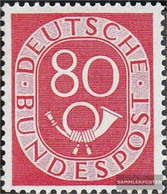 FRD (FR.Germany) 137 Tested Unmounted Mint / Never Hinged 1952 Horn - [7] Federal Republic