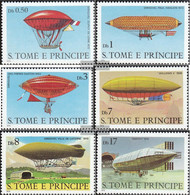 Sao Tome E Principe 626-631 (complete Issue) Unmounted Mint / Never Hinged 1979 History The Aviation - Sao Tome And Principe