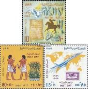 égypte 814-816 (complète.Edition.) Neuf Avec Gomme Originale 1966 Post - Ungebraucht